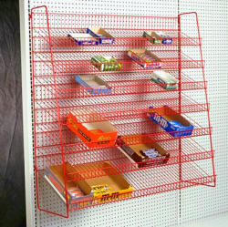 7 Level Candy Rack for Gondolas